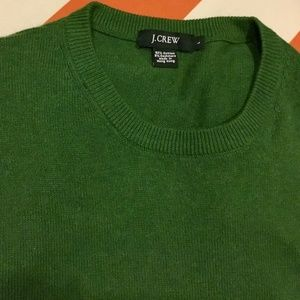 J. Crew Men's Green Sweater - Size Large
